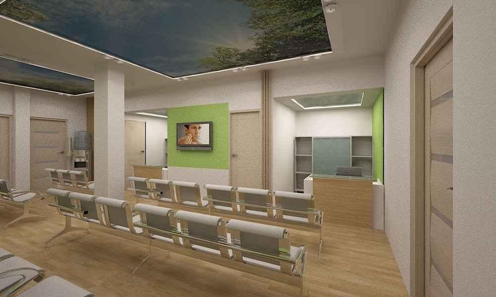 طراحی داخلی مطب دکتر نیکزاد