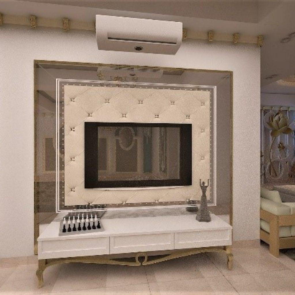 استفاده از دیوار شاخص TV در دکوراسیون داخلی