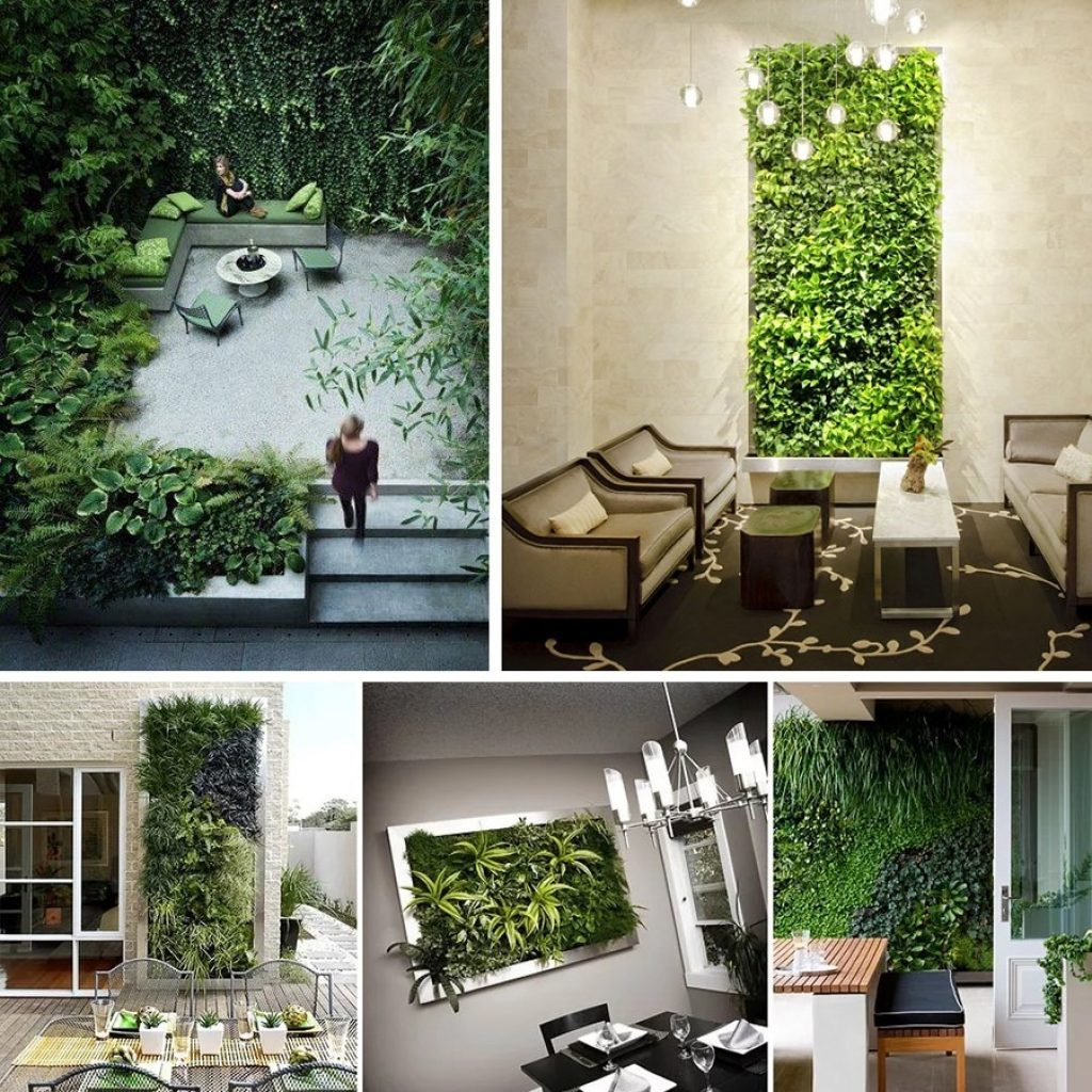استفاده از دیوار سبز شاخص در دکوراسیون داخلی